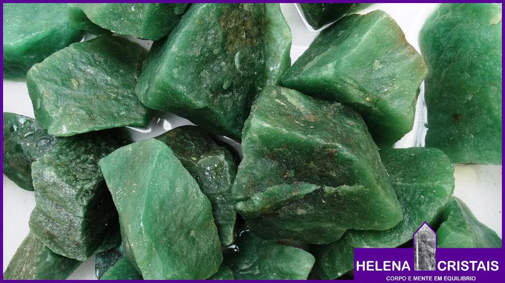 Quartzo Verde (Aventurina) e seus significados e propriedades
