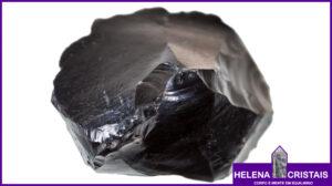 Obsidiana e seus significados e propriedades