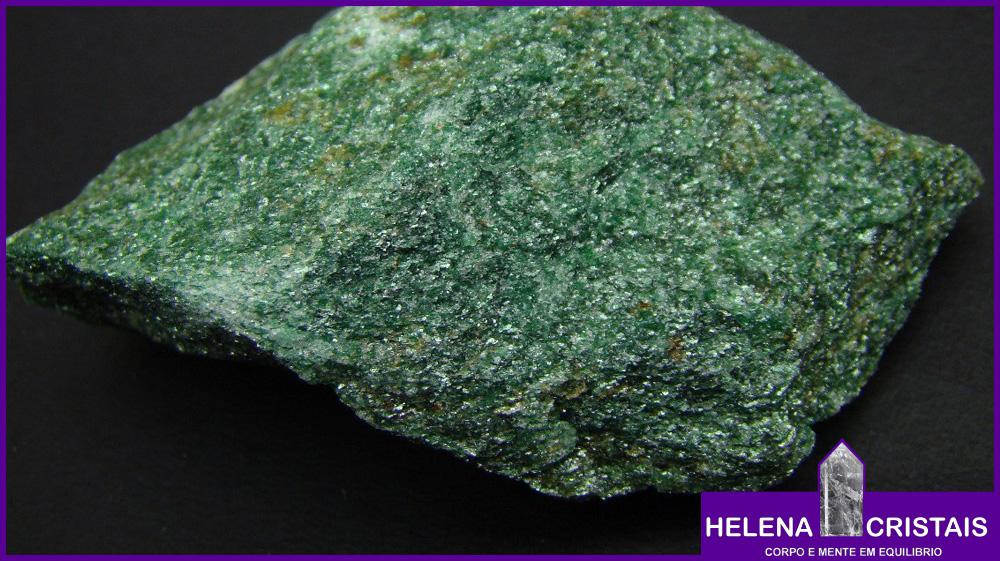 Fuchsita verde e seus significados e propriedades