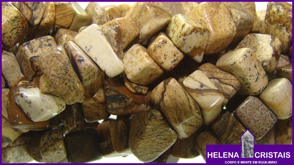 Jaspe Madeira e seus significados e propriedades