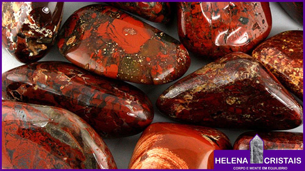Jaspe Sanguíneo Heliotropo e seus significados e propriedades